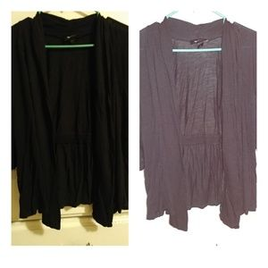 Black Cardigan/Cover Up